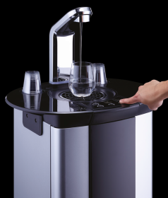 Borg & Overstrom B5 101541 Floorstanding Water Dispenser - Direct Chill, Ambient & Hot