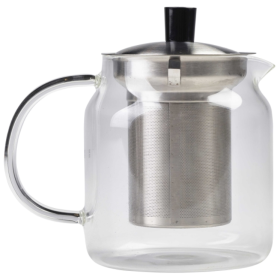 Glass Teapot with Infuser 70cl/24.75oz - Genware