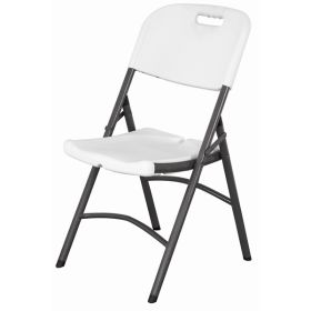 Folding Utility Chair White Hdpe - Genware