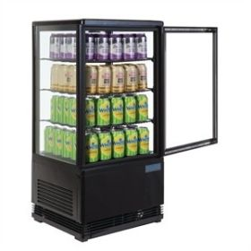Polar G211 - Chilled Display Cabinet Black 68L