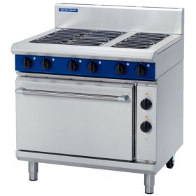 Blue Seal E506D - Electric 6 Element Range with Static Oven 900mm