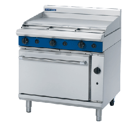 Blue Seal G506A - Gas Range - 900mm Smooth Griddle - Natural Gas