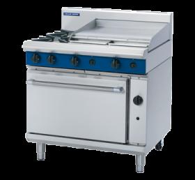 Blue Seal G506B - Gas Range - 2 Burner With 600mm Smooth Griddle