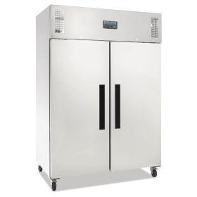 Polar G594 Double Door Fridge Stainless Steel 1200Ltr