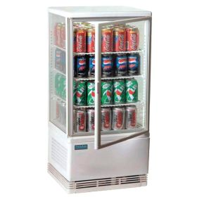Polar G619 - Chilled Display Cabinet White 68L
