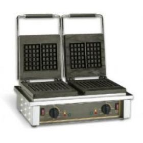 Roller Grill GED10 Double Brussels Waffle Iron