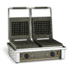 Roller Grill GED20 Double Liege Waffle Iron