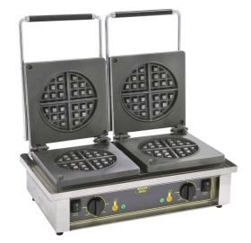 Roller Grill GED75 Double Round Waffle Iron