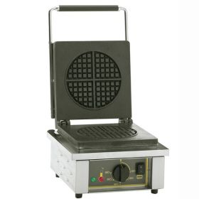 Roller Grill GES75 Single Round Waffle Iron