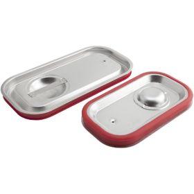 Stainless Steel Gastronorm Sealing Pan Lid 1/3 - Genware
