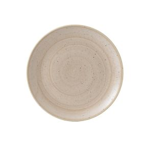Churchill Stonecast Coupe Plate Nutmeg Cream 260mm - GR935 - pk 12