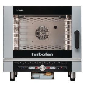 Blue Seal Turbofan EC40D5 Manual Electric 5 Grid Combination Oven