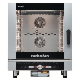 Blue Seal Turbofan EC40D7 Digital Electric 7 Grid Combination Oven
