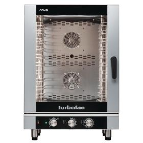 Blue Seal Turbofan EC40M10 Manual Electric 10 Grid Combination Oven