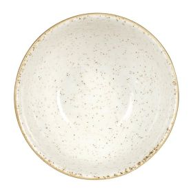 Churchill Stonecast Round Soup Bowls Barley White 132mm - HC830 - pk 12
