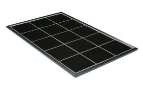 Primeware Hot Tile GHT4BK - Glass 4/3 Gastronorm Hot Tile - Black