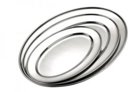 Sunnex Stainless Steel Meat Flat  20 x 16cm - 11165