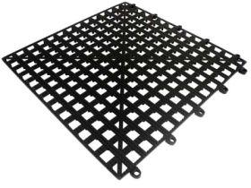 """Bar Shelf Tile Black 33 x 33cm / 13 x 13"""""""