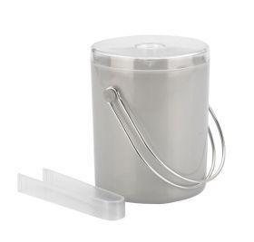 Ice Bucket & Tongs 1.75 Ltr Matt Finish