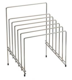Chrome Chopping Board Rack