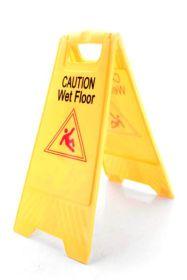 Caution Wet Floor Sign (Pack Of 3)