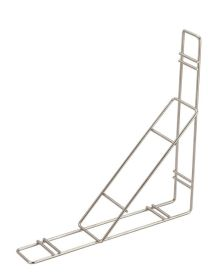Plate Rack Wall Bracket 33cm (L) x 33cm (H) x 7.5cm (W)
