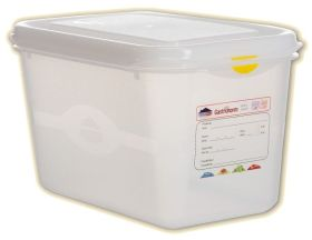 Pro Colour Coded Container 1/4 4.3 Ltr - pk 5