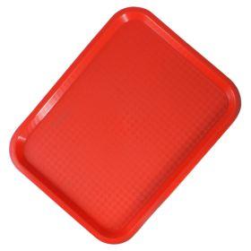 Sunnex Fast Food Red Tray 31cm x 41cm - FF81240R