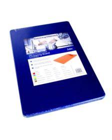 """Heavy Duty Chopping Board 18"""" x 12"""" x ½"""" Blue"""