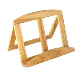 Wooden Cook Book Stand
