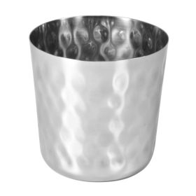 Lrg Presentation Cup 8.5cm Hammered