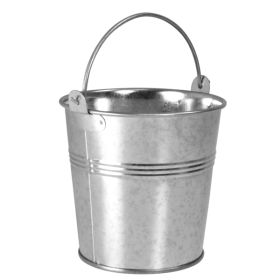 Galvanised Presentation Bucket 7x5.5x5cm