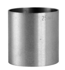 Spirit Measure Stainless Steel 25ml