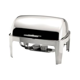 Rectangular Roll Top Chafer Full Size