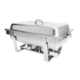 Zodiac X999A Stackable Chafing Dish Set Full Size - 1 Full Pan