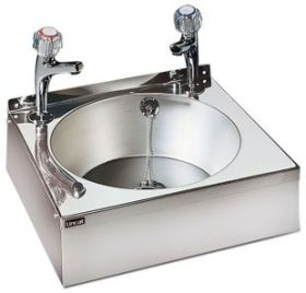 Stainless steel wash hand sink