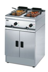 Lincat J12 - Freestanding Twin Tank Fryer - Electric