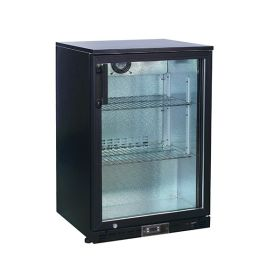 Koldbox KBC1 Single Door Bar Bottle Cooler - Black