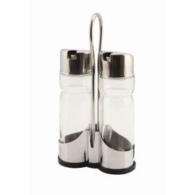 Glass Oil/Vinegar Bottle (2Pc Fit 4016/4017) - Genware