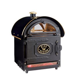 King Edward PB1FV/BLK Potato Baker Oven - Traditional Black F455-BK
