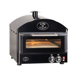 King Edward PK1 Pizza King Oven - Single Deck - Black