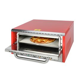 Lincat LDPO/R Lynx 400 Electric Counter-top Pizza Oven - Single-Deck - Red