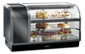 Lincat C6R/130BL Seal 650 - Curved Front Refrigerated Display - Left Power Pack, Back Service