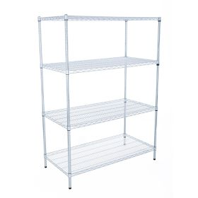 Livewire Chrome Shelving Racking - 600mm Deep, 1800mm High