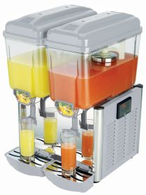Staycold LJD2 - Double Bowl Juice Dispenser