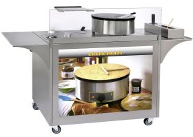 "Roller Grill MC-03 ""Crepe Party"" Cart"