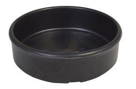 Melamine Tapas Dish 9.5cm Black MTAP-4K - Pack of 6
