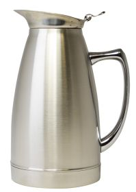 Stainless Steel Vacuum Pot Satin 0.75 Litre