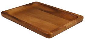 Naturals Acacia Wood Serving Platter 20 x 26.5 cm NATSP2620