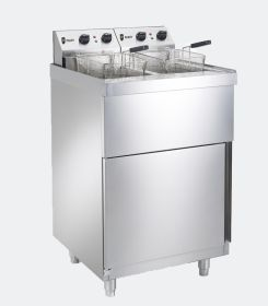 Parry PDPF6 - Double Electric Pedestal Fryer